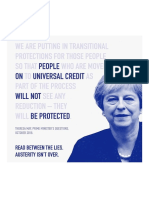 The Tories Claim Austerity is Over – but Their Actions Say Otherwise