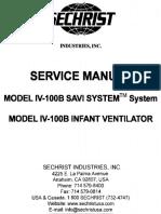 Sechrist Service Manual