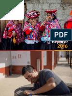 Reporte Desarrollo Sostenible 2016 Backus