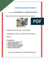 """Doctrinas Actuales Referentes Al Menor"""""""