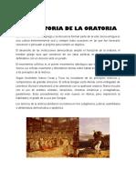 4.4 Historia de La Oratoria
