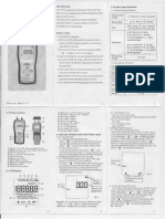 AS510 Differential Pressure Manometer