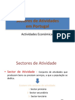 Sectores de Actividades Portugal