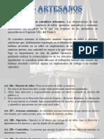 Ley de Artesanos Ecuador