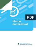 CERTIFICACION 06 Marco Conceptual