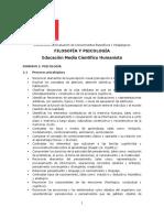 Ed. Media Científico Humanista Filosofía y Psicología