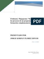 Evidencia_ Flujograma Reconocer Los Procesos de Un Programa de Formación Complementaria Virtual