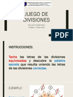 ppt Calculo Mental Divisiones