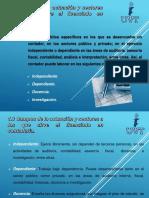 1.3 Campos de la actuación y sectores a los que sirve el licenciado en contaduría.