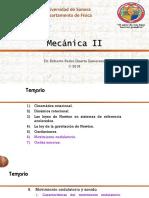 Universidad de Sonora Departamento de Física. Mecánica II. Dr. Roberto Pedro Duarte Zamorano 2016
