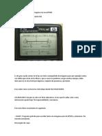 Como Introducir Texto e Imagenes en Una HP50G