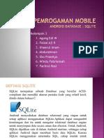 Pertemuan 7 (SQLite)