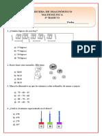 3° matemática diagnostica
