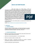Informe Penetracion