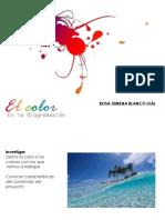 Color en Diagramación