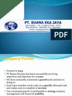 Company Profile BEJ