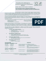 Program of Phil. Nurse Exam0001_0