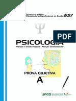 Prova Psicologia 2017
