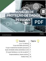 eBook - A Nova Lei de Proteção de Dados Pessoais
