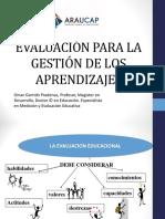 Evaluacion para la gestión de los aprendizajes.ppt