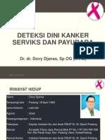 Deteksi Dini Kanker Serviks Dan Kanker Payudara Edit
