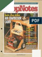 ShopNotes #60 (Vol. 10) - Aircompressor Caddy