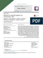 Dataset formateria llogistics on