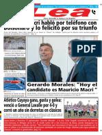 Periódico Lea Lunes 29 de Octubre Del 2018