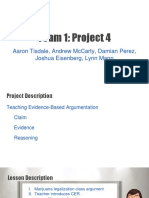 team 1 - project 4 - presentation