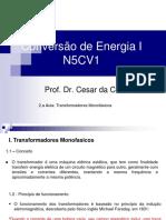 2.a Aula N5CV1 Transformadores Monofásicos