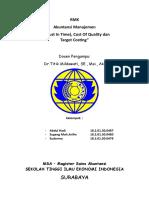 Manajemen Persediaan Jit Quality Costing