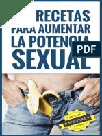 50 Recetas Para Aumentar La Pot - Margarita Sanchez