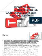 Cir v. Cebu Holdings