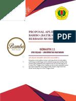 GEMASTIK 11 Pengembangan Perangkat Lunak - 001016_F1D015005 - CRS Squad - Aplikasi BAMBO Berbasis Mobile.pdf