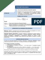 A4.9 Tasa Neta de Matrícula en Educación Superior (1)