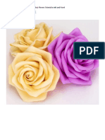 DIY Foamiran Foamy (Paper or Fabric Also) Flowers Tutorial in Mht and Word