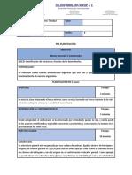 Plan de Clase - Biología 1 - Módulo 1 - Sesión 8