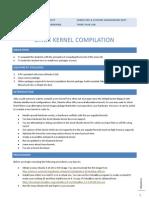Compiling Linux Kernel
