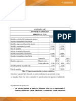 Taller 2 Departamentalización, Costos y Cantidades