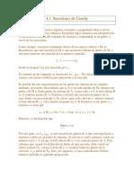 SUCESIONES DE CAUCHY