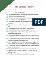 Edición Genética (PROTOTIPO)