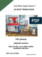CNC Glodanje Napredni