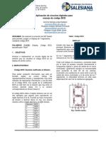 Informe 3-_-Aplicación de Circuitos Digitales Para Manejo de Código BCD