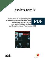 Bmus 2008 Classics Remix