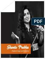 Swetha Prabhu Profile Brochure - Crve