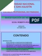 INVEST. DE MERCADOS