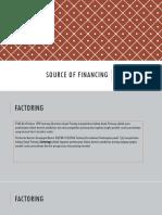 Source of Financing II Manajemen Pajak