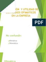 Tema 2.5 MediosOfimaticosEnLaEmpresa LoliAguilarSalguero