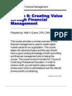 Value Based Finance for Businesses