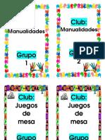 Clubes y Grupos 2